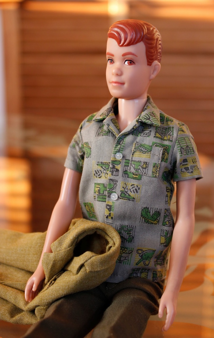 """Mattel's 1964 Allan Sherwood doll — """"Ken's Buddy"""""""