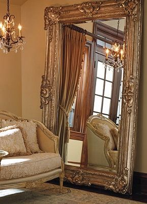 An Elegant Way To Add Reflective Light And Make Your E Feel Even Larger Suite Inspiration Pinterest Mirror Floor Decor