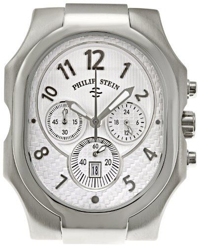 Philip Stein Men's 23-NW Classic Chronograph Natural Frequency Technology Chip Watch Philip Stein. $1179.99. Case dimensions:49 mm x 38 mm. Teslar chip integrated watch. Mineral crystal. Water-resistant to 50 M (165 feet). Quartz movement. Save 12% Off!