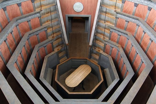 The 17th century anatomical theatre in Gustavianum, Uppsala university