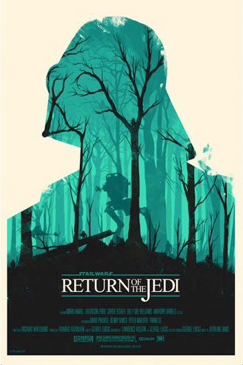 Star Wars Original Trilogy Posters by Olly Moss