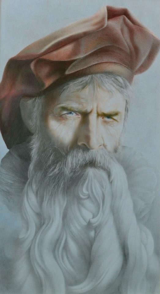 Romanian Artist: Gheorghe Miron  http://artinfonews.ro/wp-content/uploads/2015/03/Omagiu.jpg