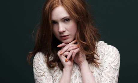 Day 19 Least Favorite Actress--Karen Gillan i guess because I don't like Amy that much.