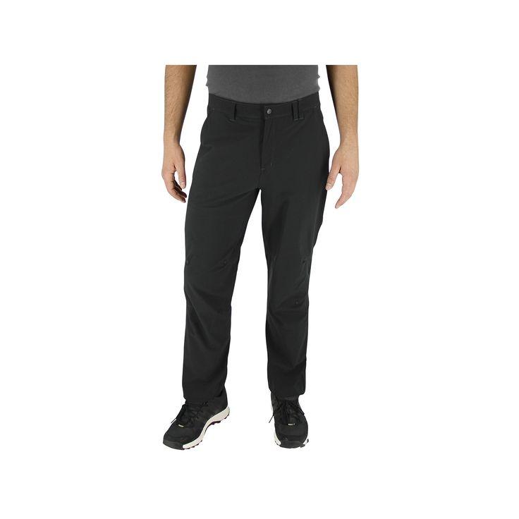 Men's Adidas Flex Hiking Pants, Size: 38, Black