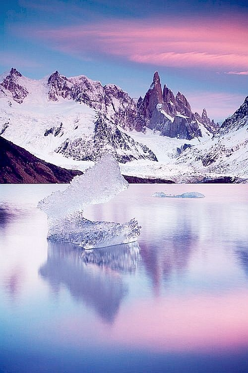 Ice Sculpture, Patagonia, Santa Cruz
