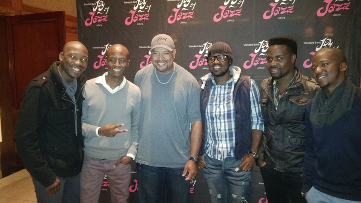 Frank McComb and The Muffinz at Road To Joy of Jazz Lyric Theatre event