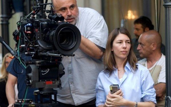 Sofia Coppola directing Somewhere.