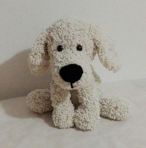 Fluffy Dog pattern by Made by Martina | Crochet dog patterns, Dog ...