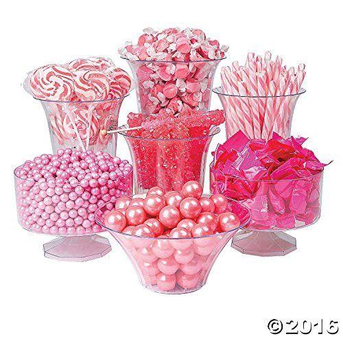 Pink Candy Buffet Assortment