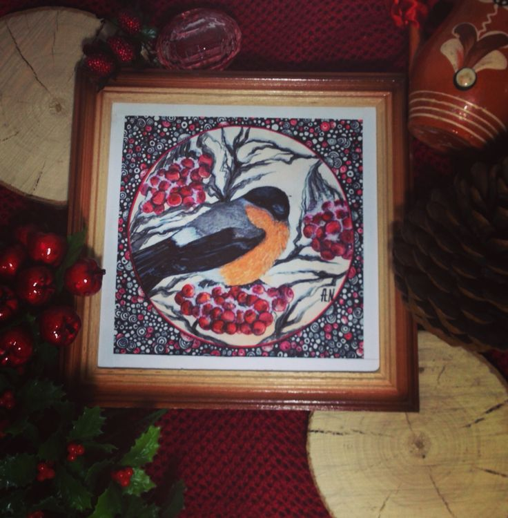 """Отправляем новой владелицы прекрасную репродукцию моей нарисованой открытки в """"Winter bullfinch""""❄️ @annas_art_shop обращайтесь, заказывайте - с большим удовольствием реализую все ваши творческие пожелания и идеи. (РИСУЮ НА ЗАКАЗ, эскизы, иллюстрации, художественные картины, открытки, приглашения, визитки, постеры, роспись стен и многое другое) ЖДУ ВАШИХ ПРЕДЛОЖЕНИЙ!!! #ОКРЫТКИ #открыткиназаказ #открыткиновыйгод #РИСУНКИНАЗАКАЗ #ДИЗАЙН #newyear #newyeargift #newyearcard…"""