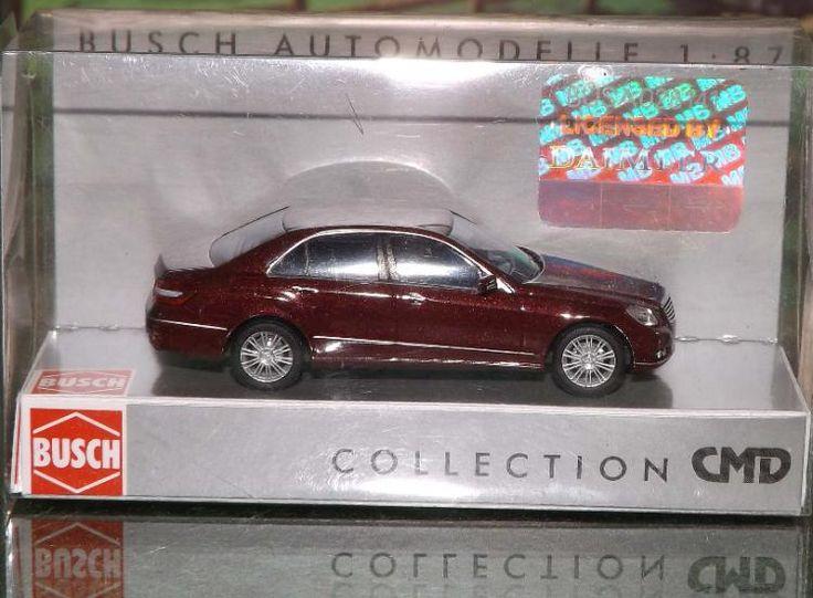 """Busch Modellauto 44207 """"Mercedes Benz E-Klasse CMD"""" in OVP wie neu"""