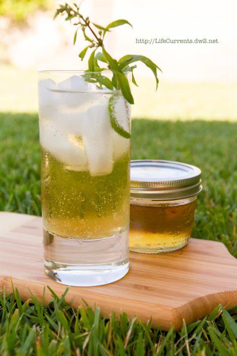 Lemon Verbena Lemongrass Soda and Basil Simple Syrups | Life Currents