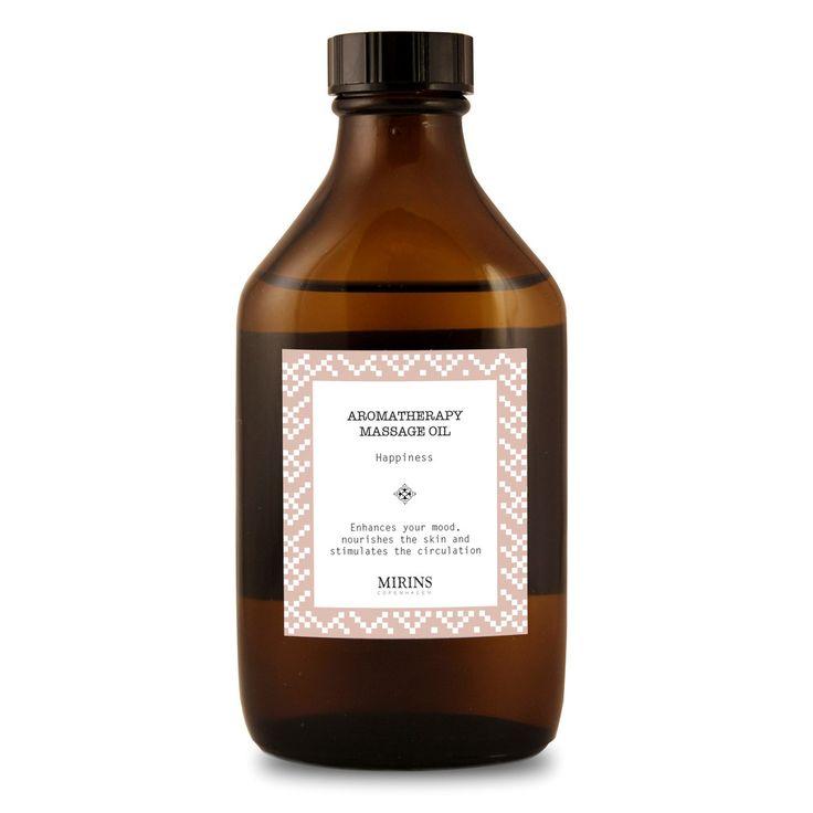 Massage Oil - Happiness - Rose Geranium, Orange