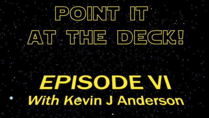 "The Star Wars podcast on thesupernaughts.com, featuring an interview with legendary SW Expanded Universe writer Kevin J Anderson, who also wrote several ""X-Files"" and ""Dune"" novels!"