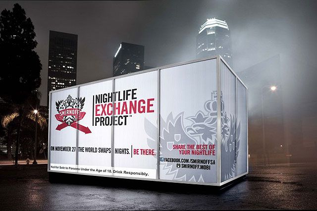 smirnoff nightlife exchange media campaign How the best vodka brands are using social media marketing  and while tv  ads have worked for smirnoff in the past, the brand has found more  #tbt work  with @smirnoffgb_ire on the #nightlife #exchange #project.