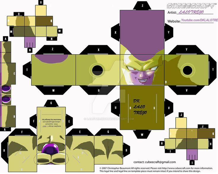 Golden Freezer Cubeecraft | Fukkatsu no F by LaloTrejoDK.deviantart.com on…