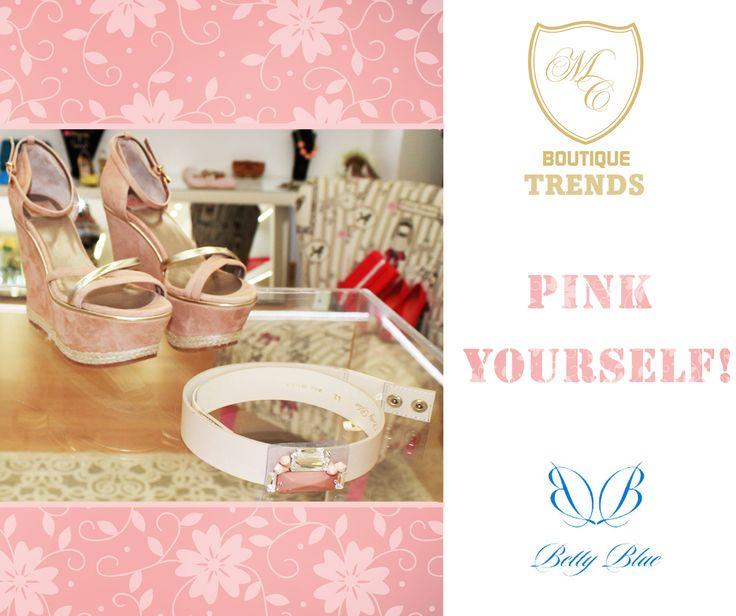 Se é adepta do estilo girly vai adorar a nossa colecção de acessórios! #bettyblue #girly #pink