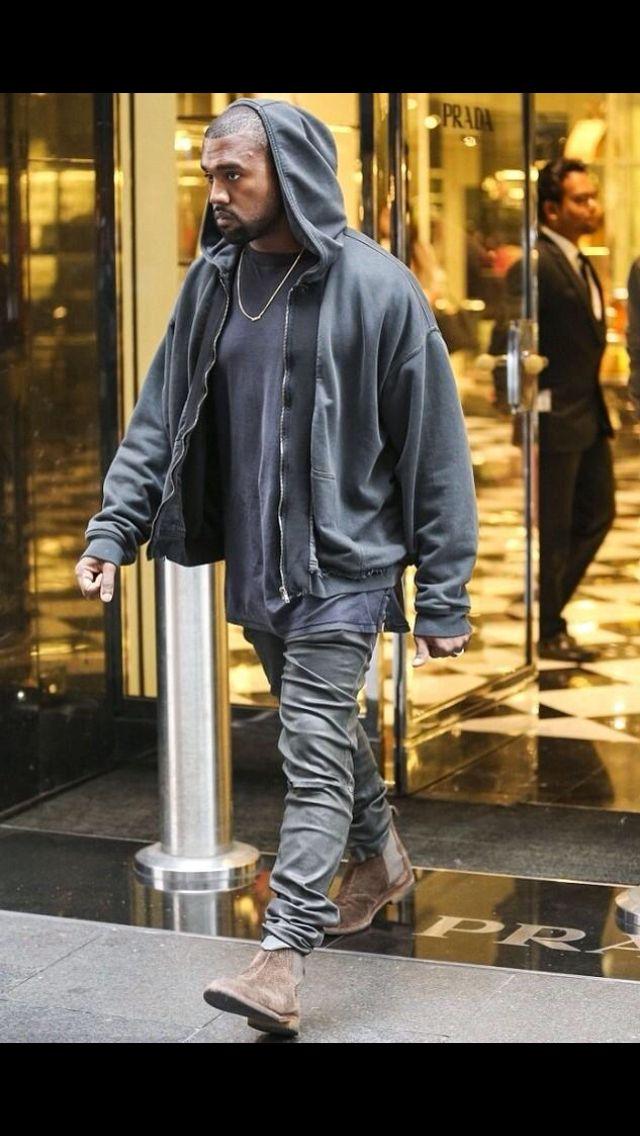 Men's fashion Kanye West