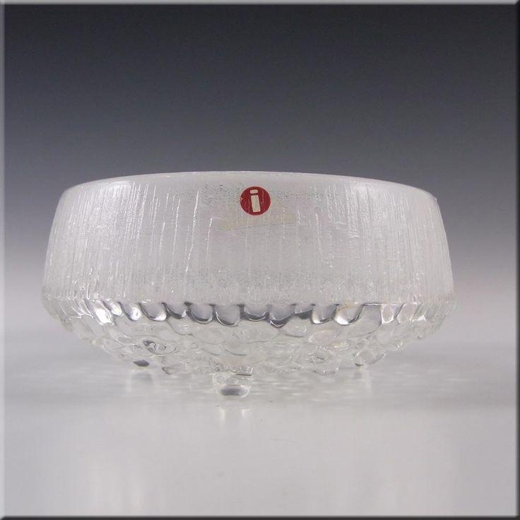Iittala Swedish Glass 'Ultima Thule' Bowl by Tapio Wirkkala - £29.99