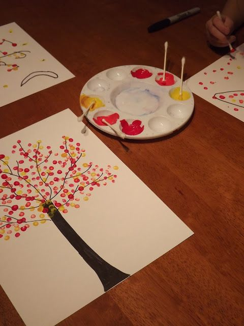 Easy OILS Art Project
