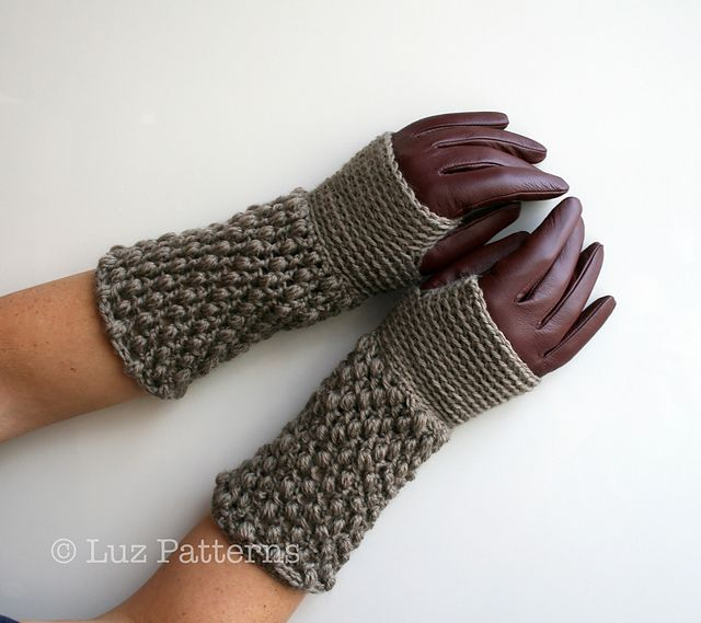Mejores 122 imágenes de crochet gloves and mittens en Pinterest ...