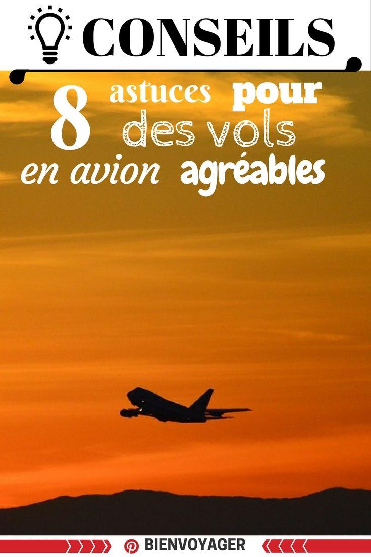 8 conseils voyager bien avion