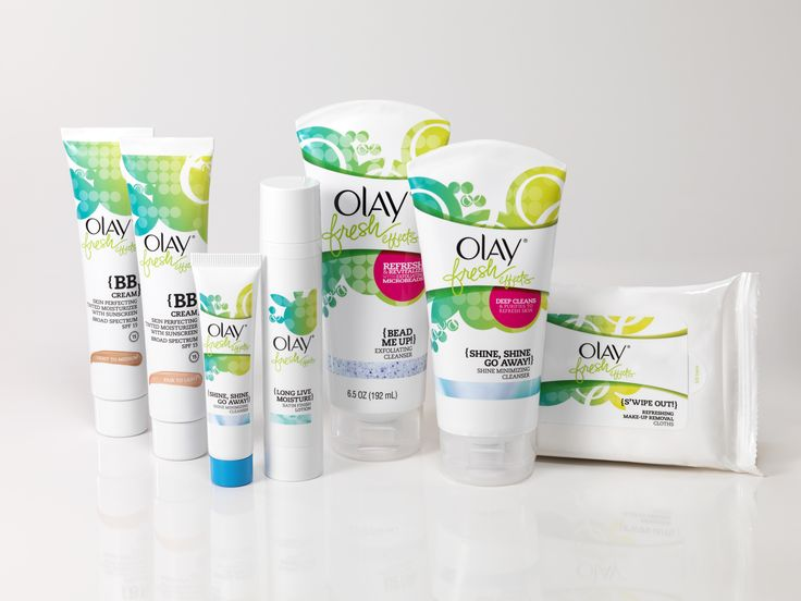 Say hello to the Olay Fresh Effects family!