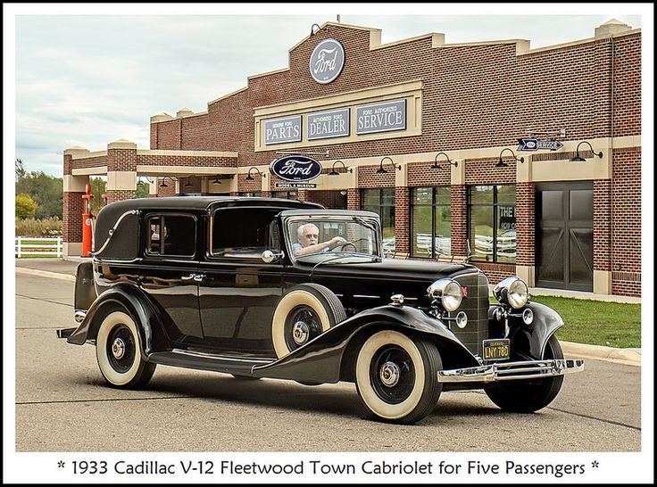1933 Cadillac V-12 Fleetwood Town Cabriolet | by sjb4photos
