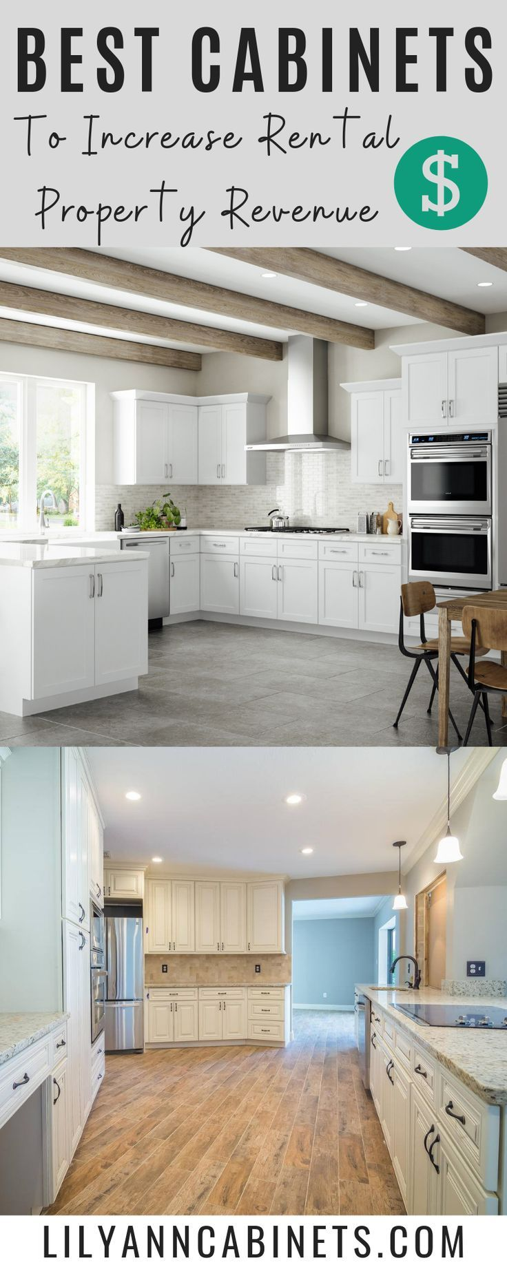Use These Cabinets To Increase Rental Property Revenue Rental Property Investment Property Remodel Rental Kitchen