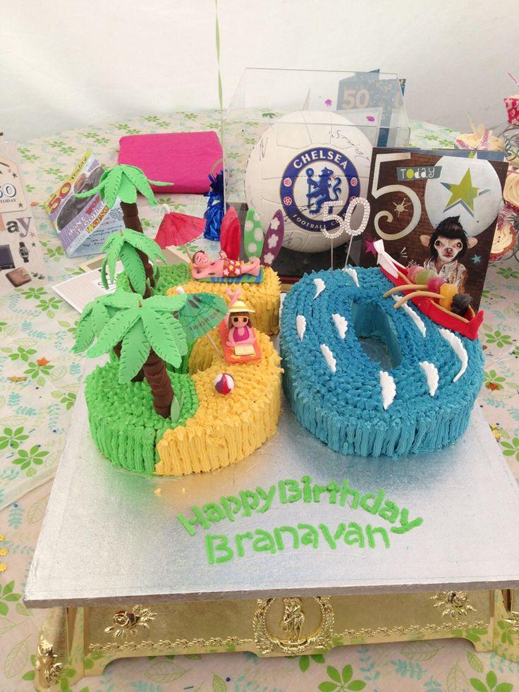 Branavan's 50th Birthday Cake