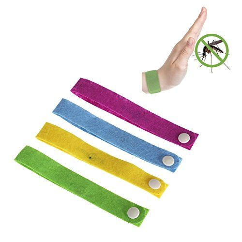 CAMTOA 10x M�ckenschutz Insektenschutzmittel Armband M�cke armband Anti-M�cken Aufkleber-Patch, gegen Insekten Mueckenschutz Bracelet Modisch Design