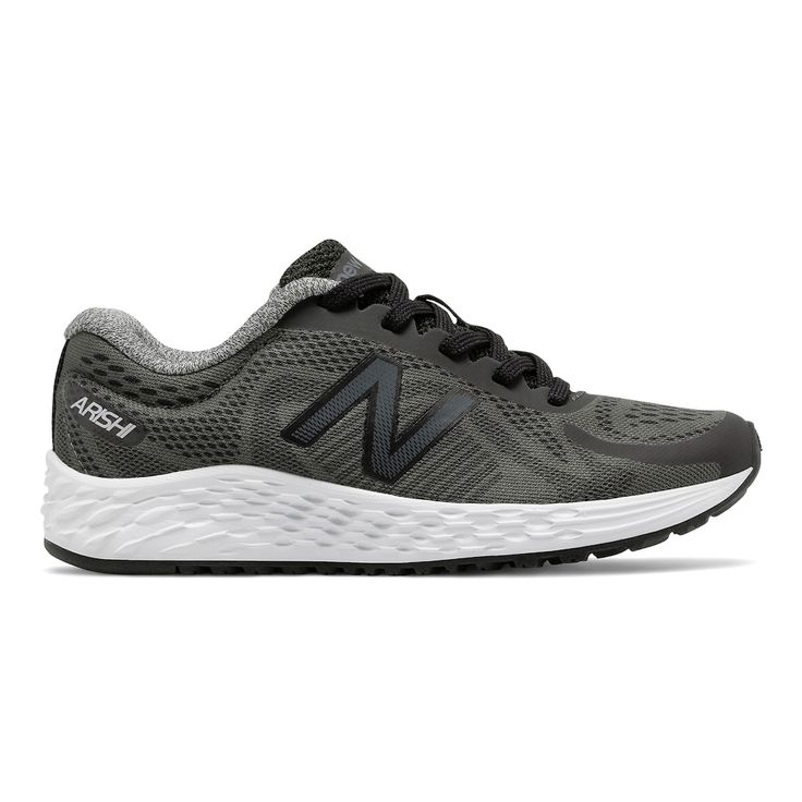 New Balance Arishi Boys' Running Shoes, Size: 13 Wide, Grey Other