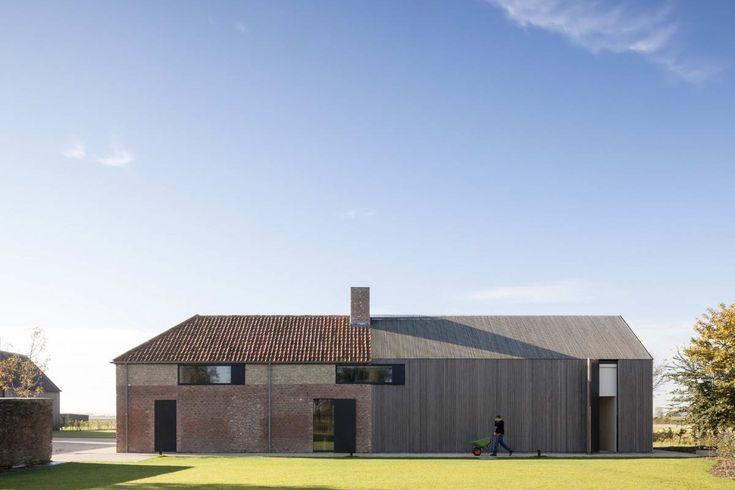 Резиденция ДББ (Residence DBB) в Бельгии от Govaert & Vanhoutte Architects.