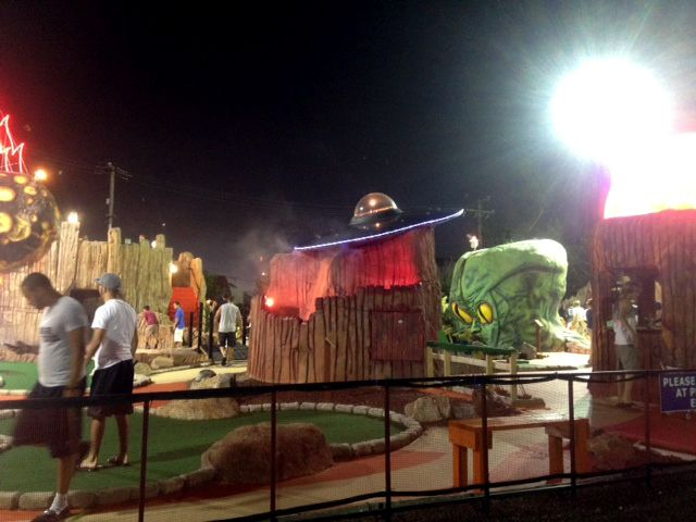 The best mini golf course in Ocean City, MD is only at Planet Maze - your Family Amusement center at the beach!