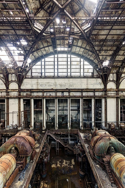 Turbine Hall It's -10°C but really, with such a view, who cares?!