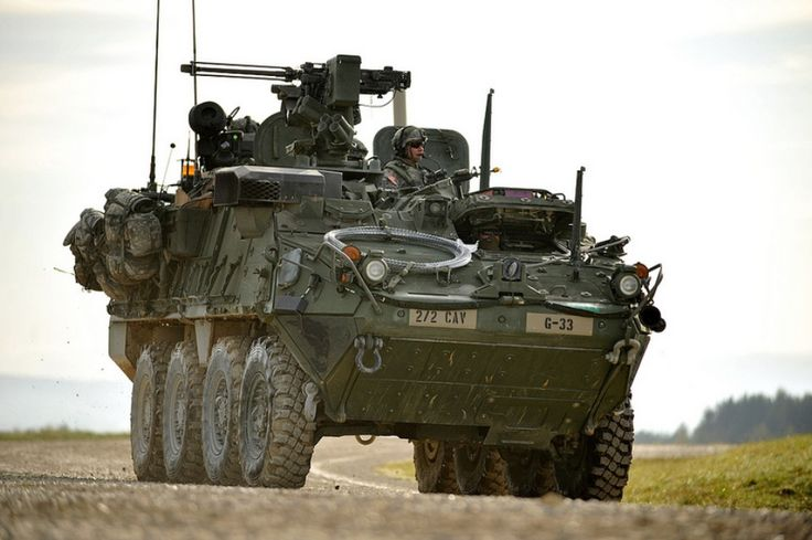 Stryker. Roll right through any and every zombie herd in your path.