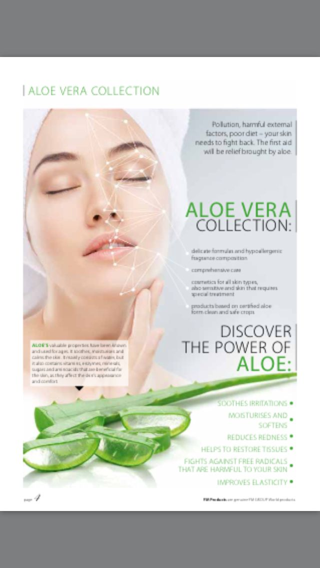 Check out the new Aloe Vera range from FM
