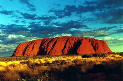 The Australian Outback ... Ayers Rock