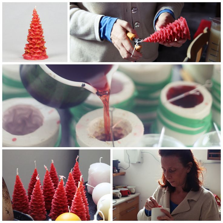 #Christmas Trees are being born! An insight into our #manufactory ... :)
