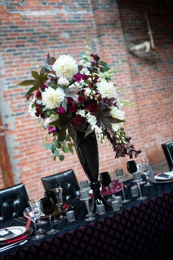 Rocker Chic. Glam Event Design by She by Shayla Hawkins. Image by Comfort Photography. MunaLuchi Bride
