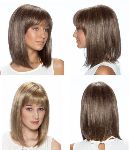 how to choose haircut shoulder length blunt cut this cut only with side 4910 | e8208e7d0e3d87c8712b7d4910b9dacd