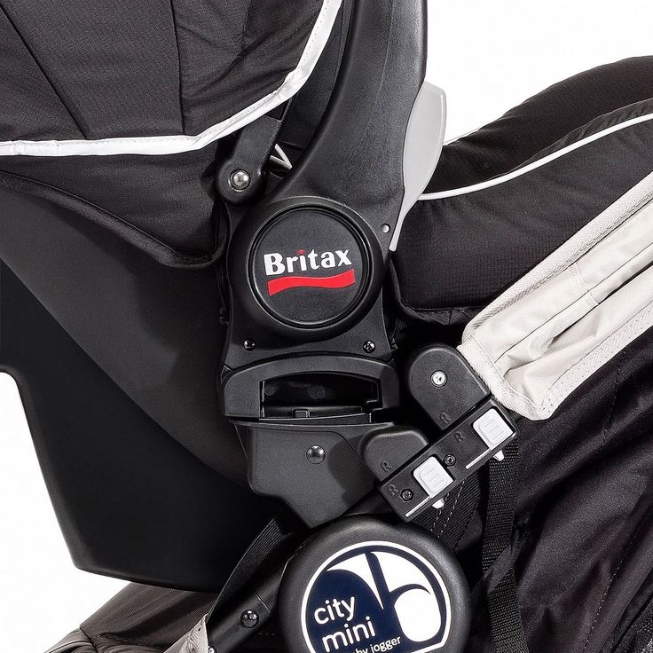 Britax/BOB Single Car Seat Adapter for Baby Jogger City