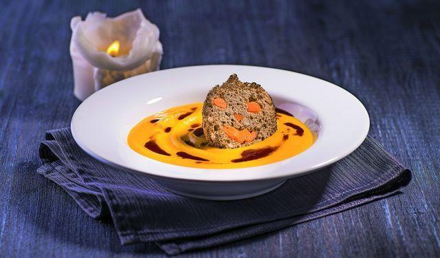 Tekvicovo-mrkvová polievka