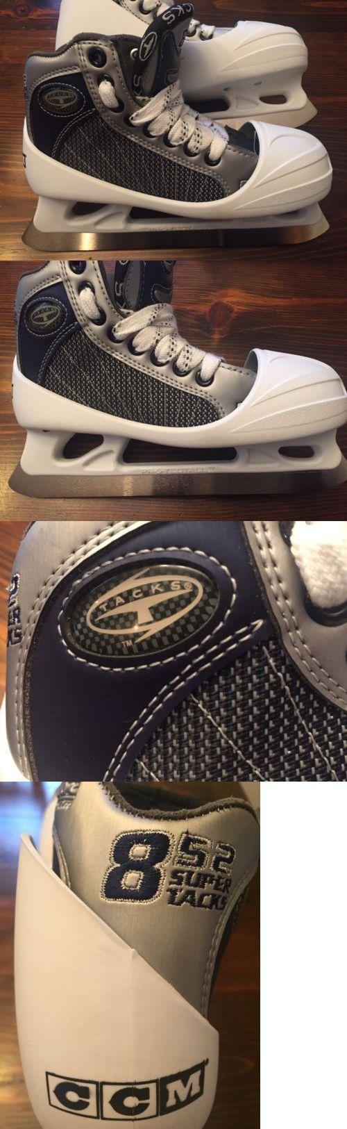 Ice Hockey-Youth 26342: Ccm 852 Youth Ice Hockey Goalie Skates 13.5 E -> BUY IT NOW ONLY: $79.99 on eBay!