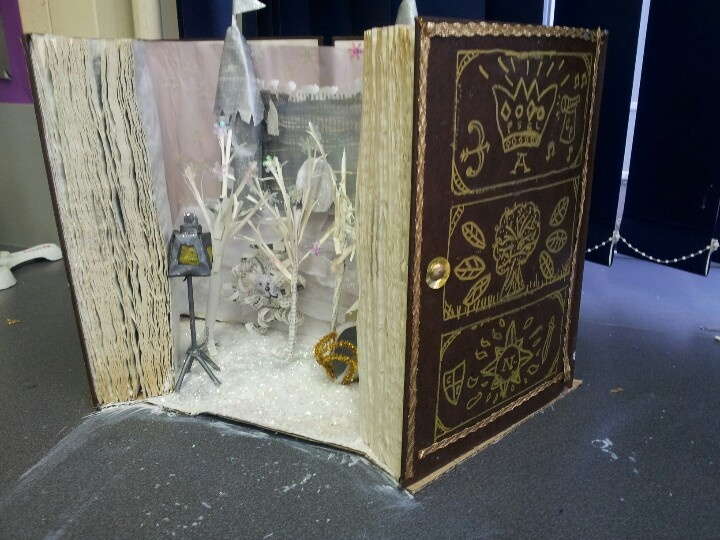 My class's altered book made for world book day. The lion ...