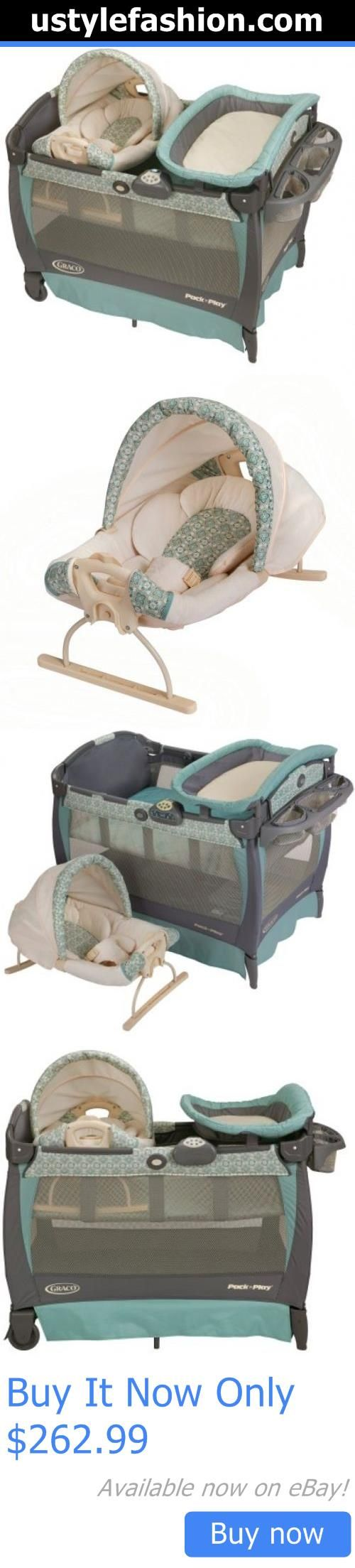 Baby Play pens and play yards: New Graco Pack N Play Playard With Cuddle  Cove