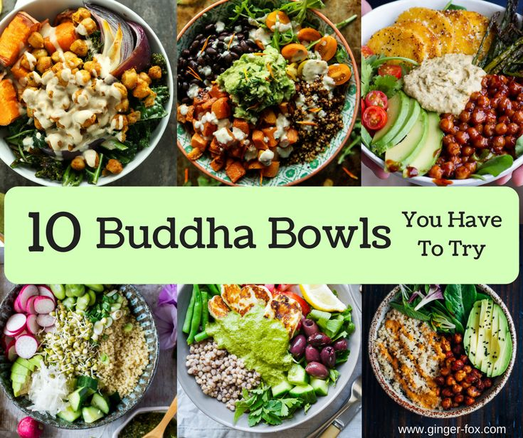 10 Nutritious and Healthy Buddha Bowls to keep your Diet on Track this month…
