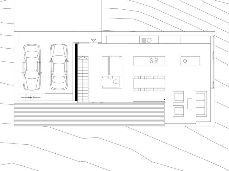 die besten 25 reihenhaus grundriss ideen auf pinterest. Black Bedroom Furniture Sets. Home Design Ideas
