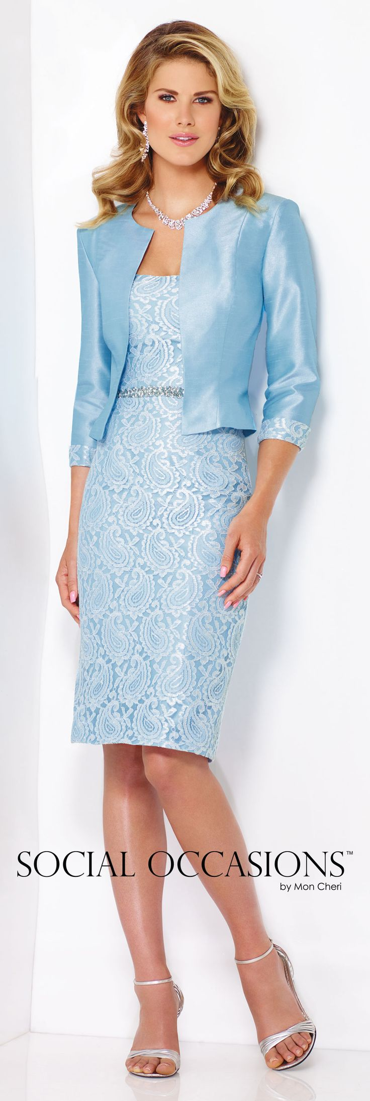 Social Occasions by Mon Cheri Spring 2016 - Style No. 116838 #shorteveningdresses