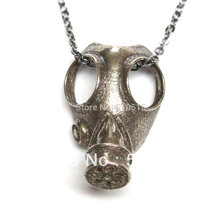 Doctor Who Anti-silver Steampunk Apocalypse Gas Mask Pendant Necklace